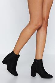 Walks Of Life Faux Suede Bootie