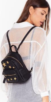 Want Blazing Star Faux Leather Backpack