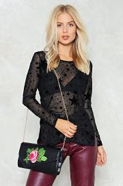 Want Kiss From A Rose Crossbody Bag