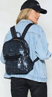 Want Sequin You Again Backpack