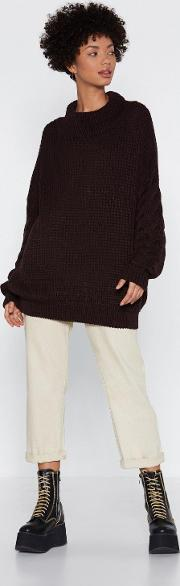 Warm Your Heart Oversized Sweater