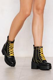 We Have Our Differences Chunky Boot