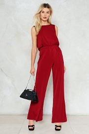 When I Say Jump Wide Leg Jumpsuit