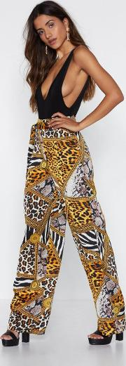 Wild For You Wide Leg Pants