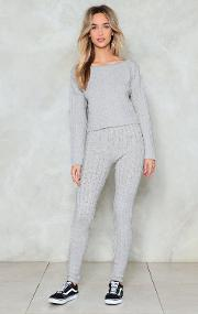 Wind Down Lounge Sweater And Leggings Set