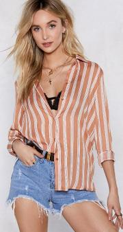 You'll Be Al Stripe Relaxed Shirt