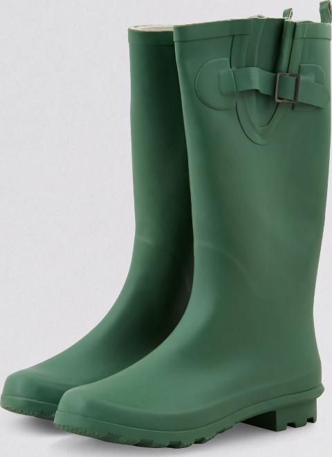 Green Welly Boots New Look
