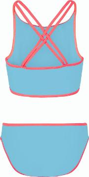 Teens Turquoise Beach Club High Neck Bikini