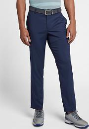 Modern Fit Chino Men's Golf Trousers Blue