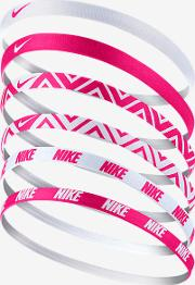 Printed Headbands Assorted 6pk Pink