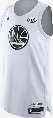 Stephen Curry All Star Edition Authentic Jersey Men's Jordan Nba Connected Jersey White