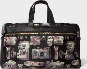 Men's Camouflage 'paul's Camera' Print Canvas Weekend Bag