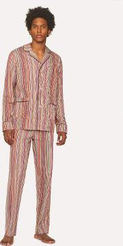 Men's Signature Stripe Cotton Pyjama Set