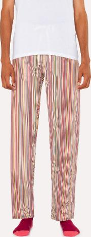 Men's Signature Stripe Pyjama Bottoms