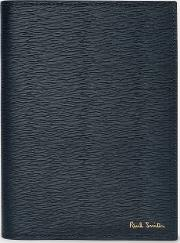 Navy Saffiano Leather Passport Cover