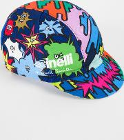 Paul Smith Cinelli 'comic Characters' Cycling Cap