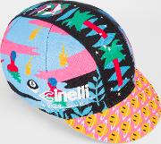 Paul Smith Cinelli 'magic Eight Monster' Cycling Cap