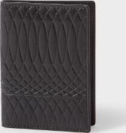 Paul Smith No.9 Men's Black Leather Credit Card Wallet
