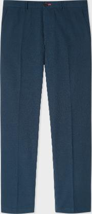 Men's Mid Fit Petrol Stretch Cotton Chinos