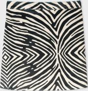 Women's Zebra Faux Pony Hair Skirt