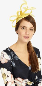 Anna Feather And Bow Fascinator