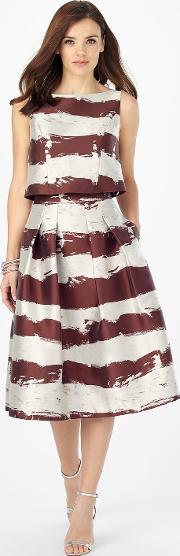Brush Stroke Skirt