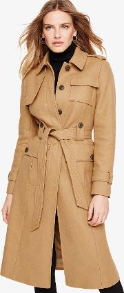 Eleni Trench Belted Coat