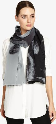 Elsie Feather Print Scarf