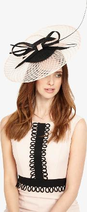 Evelyn Disc Fascinator
