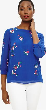 Hina Embroidered Blouse
