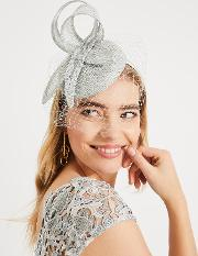 Hollie Veiled Pillbox Fascinator