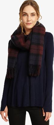 Layla Check Scarf