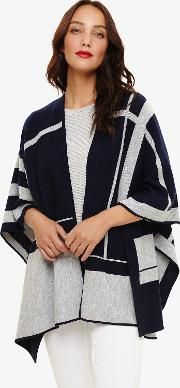 Nita Oversized Check Wrap