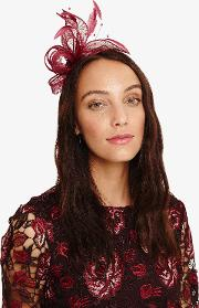 Payton Bow And Feather Fascinator
