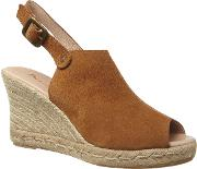 Tally Suede Wedge Espadrille
