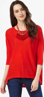 Tomasine Tassle Necklace Knit