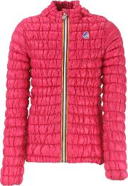 K Way Girls Down Jacket For Kids, Puffer Ski Jacket