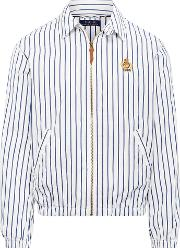 Bayport Striped Windbreaker