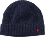 Cable Knit Wool Cashmere Hat