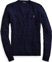 Cable Wool Cashmere Sweater
