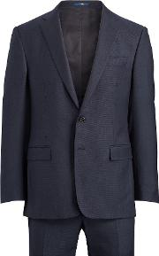 Connery Nail Head Wool Suit