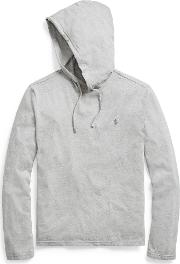 Cotton Jersey Hooded T Shirt