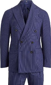 Morgan Striped Suit