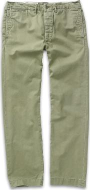Officer's Flat Front Chino