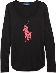 Pink Pony Long Sleeve T Shirt