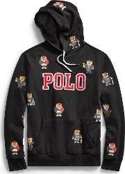 Polo Bear Cotton Blend Hoodie