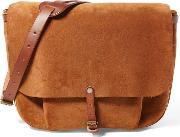 Roughout Leather Mailbag