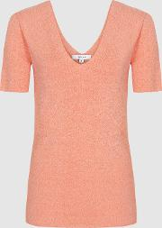Ada V Neck Knitted Top
