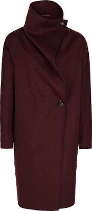 Antonia Wrap Collar Coat