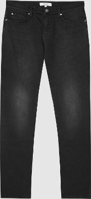 Arena Jersey Stretch Slim Fit Jeans